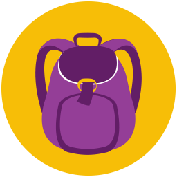 Hiking-Backpack-icon