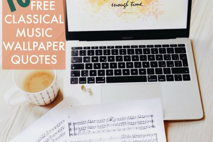 classical music wallpapaer quotes