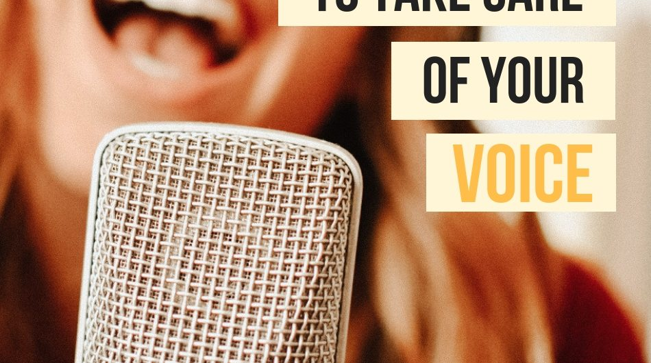 12 ways to take care of your voice