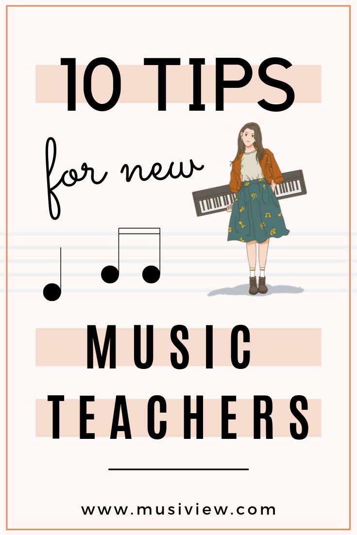 10 tips for new music teacher