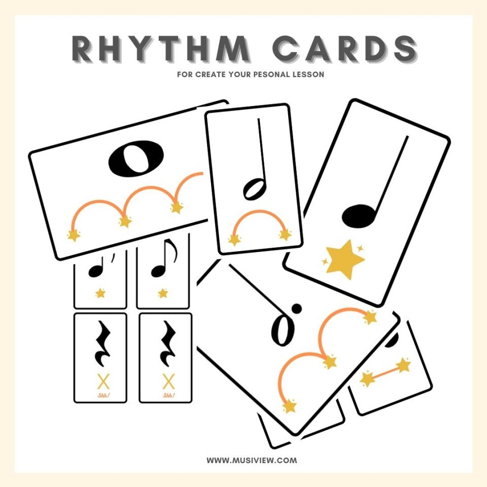 Rhythm cards musiview